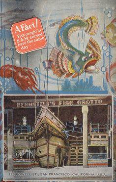 Bernstein's Fish Grotto - San, Francisco, California