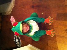 Homemade Frog Costume