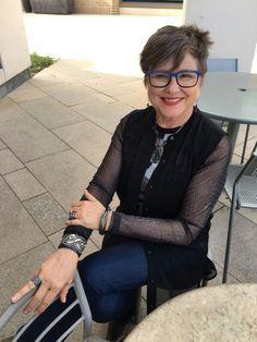 Sixty, sexy, and wearing sheer fabrics   Brenda Kinsel