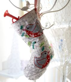 Rocky Robin Stocking