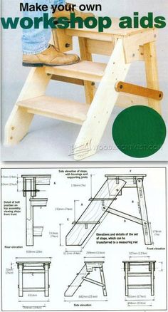 DIY Step Platform - Workshop Solutions Projects, Tips and Tricks