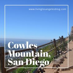 Cowles Mountain is a moderate, 3 mile out and back trail in San Diego. The trails are clearly marked and well kept but highly trafficked. There is no shade