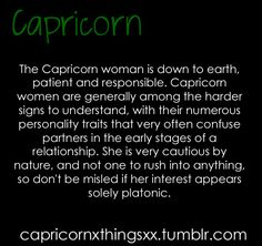 Capricorn Women - hear us roar