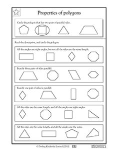 math worksheet : naming polygons  worksheets  activities  greatschools  student  : Polygons Worksheet