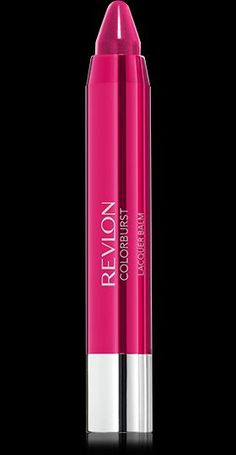 Revlon ColorBurst™ Lacquer Balm. HIGH SHINE LACQUER COLOR. BALM-LIKE FEEL.. My Shade: VIVACIOUS.