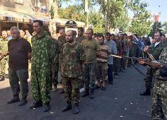 Пленных на «параде» в Донецке не было. Это постановка « Retrans24