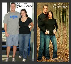 "Clean Eating - Transformation - He went from a waist size of 38"" to a waist size of 32"" & she went from a size 10 to a size 2----this site has great recipes I want to try! New Years resolution for 2013!!!!"
