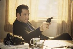 Still of John Travolta in Get Shorty (1995)... just watched this again last night. I do love me some John!!!