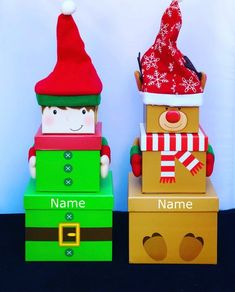 "Starts with Letter /""R/"" Bear Personalized Christmas Ornament Package Tag"