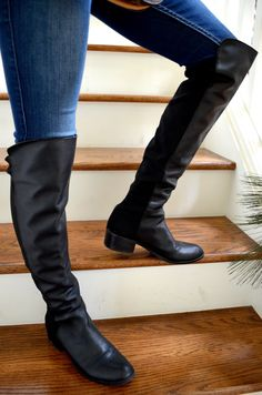 Stuart Weitzman Boots - Have a Holly Jolly Christmas | Reddy Set Beauty