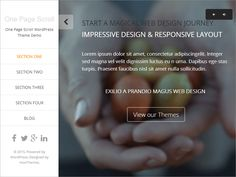 One Page Scroll is a one page responsive WordPress theme built using the Twitter Bootstrap framework and retina ready Font Awesome icons integration. One Page Scroll also uses the Options...