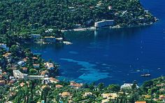 The Côte d'Azur, pronounced, often known in English as the French Riviera, is the Mediterranean coastline of the southeast corner of France