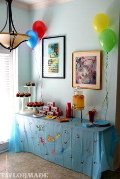 A Yo Gabba Gabba Birthday Party - Taylor Made