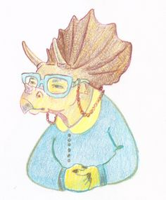 Illustration (personal) by Kristine Tague, via Behance