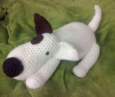 I can't wait to make this Jack Russell terrier up for my son. Yarn A Bees has fantastic crochet patterns