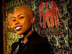 Vocalist Shelby J of Prince's NPG