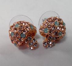 Mushroom earring