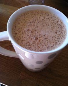 Peppermint Mocha Latte (caffeine-free) www.valeriepiccitto.com