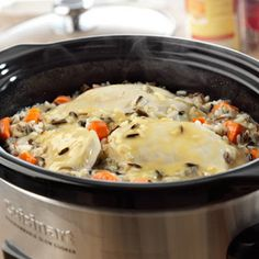 Slow Cooked Creamy Chicken
