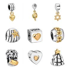 gemdivine.com 925-sterling-silver-bead-style-gold-plated-european-charm-beads-fit-pandora-style-bracelet-pendant-diy-original-jewelry-making