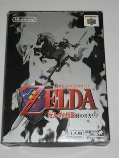 Nintendo 64 N64 Legend of Zelda Ocarina of Time Boxed Japan Used 045496870041 | eBay