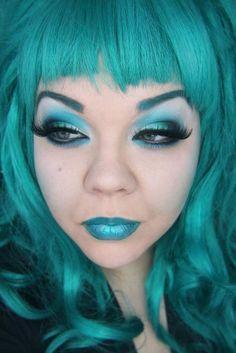 Step-by-Step: Teal Darling with Sugarpill - Makeup Geek