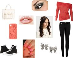"""Sem título #104"" by ana-juliajujuba ❤ liked on Polyvore"