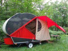 iTearDrop - Ultralight Expandable Teardrop Trailers - v6.0 iTearDrop Camping Trailer