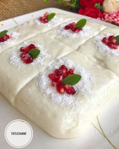 Der Ort, an dem das Milchdessert anders ist, ist hier Tage . Turkish Recipes, Ethnic Recipes, Fruit Drinks, Easy Cake Recipes, Desert Recipes, Beautiful Cakes, Bakery, Deserts, Food And Drink