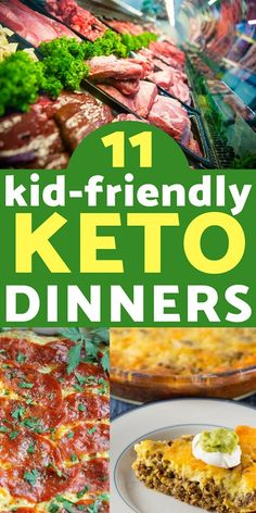 Keto Recipes: Making dinner can be a battle in any family. Don& make multip. Keto Recipes: Making dinner can be a battle in any family. Don& make multiple meals for every diet- here are 11 keto dinner recipes that even your kids will love! Ketogenic Recipes, Diet Recipes, Healthy Recipes, Ketogenic Diet, Dinner Recipes For Kids, Meals For Kids, Kid Meals, Ketosis Diet, Supper Recipes