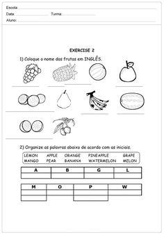 Pin Em Ingles Para Criancas