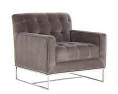 Sunpan Modern Alexandria Armchair with Giotto Grey Fabric 31 x 32 -- To learn more, visit picture link. (This is an affiliate link). Grey Armchair, Swivel Armchair, Sofa Chair, Parsons Chairs, Barrel Chair, Upholstered Dining Chairs, Arm Chairs, Eames Chairs, Office Chairs