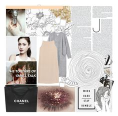 """""""Our Touch Ain't Dull"""" by lucidmoon ❤ liked on Polyvore featuring Nails Inc., Monki, T By Alexander Wang, Chanel and Assouline Publishing"""