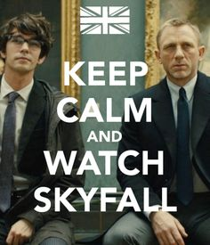 Skyfall.... this picture is amazing. and for the record I have watched it... Twice :)
