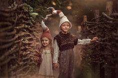 Гномы, Художественные Куклы, Пикси, Сказки, Фотография
