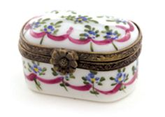 Floral Little Trunk Box
