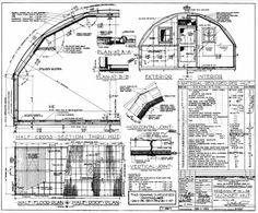 United States Navy: Quonset Huts: US Navy Quonset Hut: A Product of American Industry Silo House, Hut House, Hut Images, Quonset Hut Homes, Barn Homes, 8x12 Shed Plans, Steel Building Homes, House Building, Run In Shed