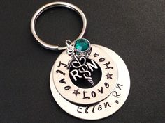Hey, I found this really awesome Etsy listing at https://www.etsy.com/listing/218950072/hand-stamped-jewelry-keychain-rnlpn