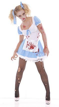 alice gone wild zombie costume
