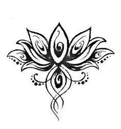 Lotus Tattoo - Depression Symbol - Rebirth - Life - Beauty by florence