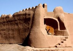 Miandasht Caravanserai in Shahrood City, Iran. The complex is about 105 kilometers to the east of Shahrood City. The city is in the province of Semnan. It is by the Silk Road. It is not far from Sabzevar between Mashhad and Tehran.