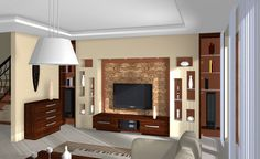 Családi ház korszerűsítése /  Family house modernization Divider, Wall Niches, Interior Design, Room, Furniture, Home Decor, Image, Ideas, House