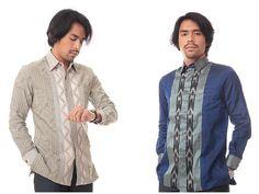 Anak-anak muda remaja hingga dewasa sangat menyukai baju batik berlengan pendek ini karena menurut mereka lebih trendi.