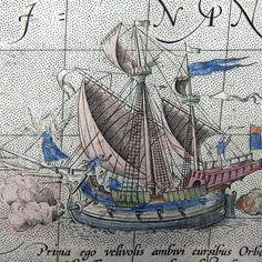 Fascinated with drawings of old ships. Wish I could be on one & experience the seafaring life long ago - and now!