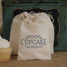 Baby Shower Favor Cupcake Mix -