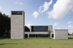 Photograph by Anders Sune Berg. Gallery of Communal Crematorium / Henning Larsen Architects. Henning Larsen, Van Damme, Richard Rogers, Architectural Services, Architectural Models, Architectural Drawings, Religious Architecture, Santiago Calatrava, Alvar Aalto