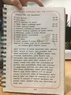 Old Recipes, Vintage Recipes, Cookbook Recipes, Turkey Recipes, Chicken Recipes, Cooking Recipes, Savoury Dishes, Food Dishes, Main Dishes