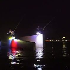 Midnight LED Wakeboard! Would love to do this!!!