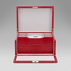 Smythson - Leather Jewellery Box