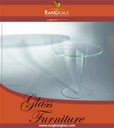Customised create glass furniture with shree rangkala glass design. #glass #furniture #glassfurniture #rangkala #glassdesign #design #artwork #glassartwork